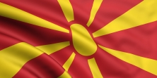 FYR MACEDONIA FLAG