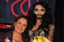 ANNE MARIE DAVID & CONCHITA WURST