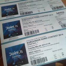 EUROVISION 2014 TICKETS