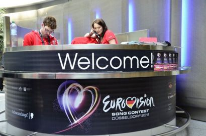 EUROVISION 2011 WELCOME DESK
