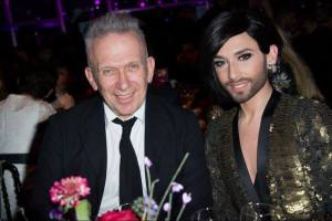 CONCHITA WURST & JEAN PAUL GAULTIER