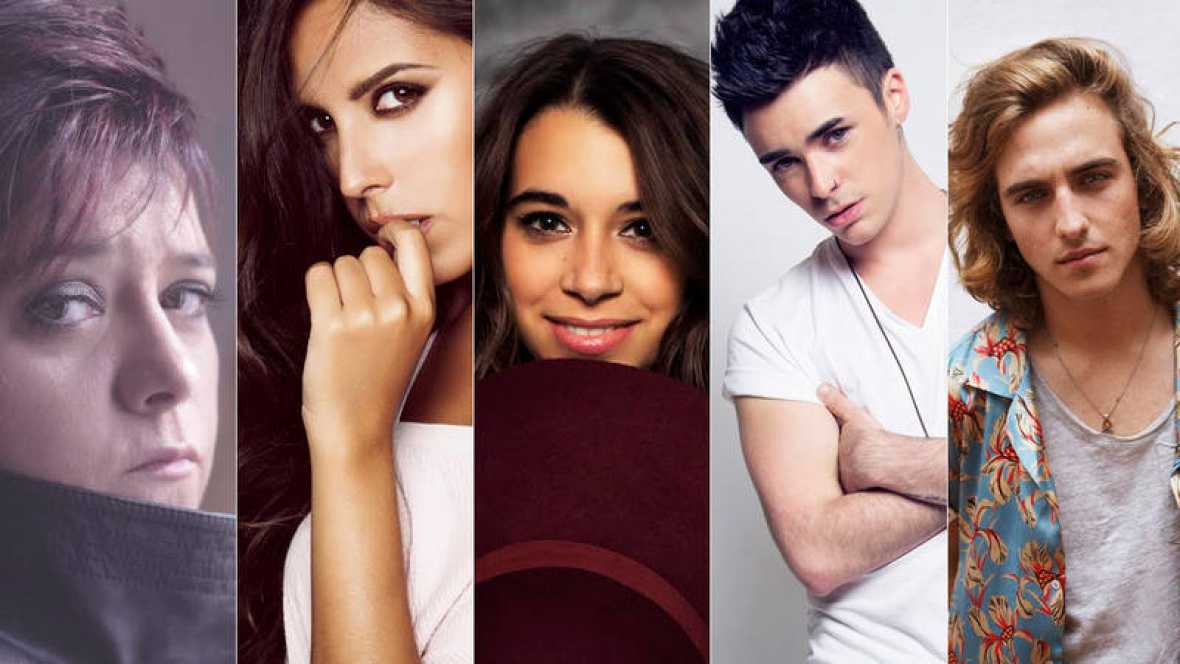 Spain 2017: here are the full versions of Objetivo Eurovisión; vote for them!