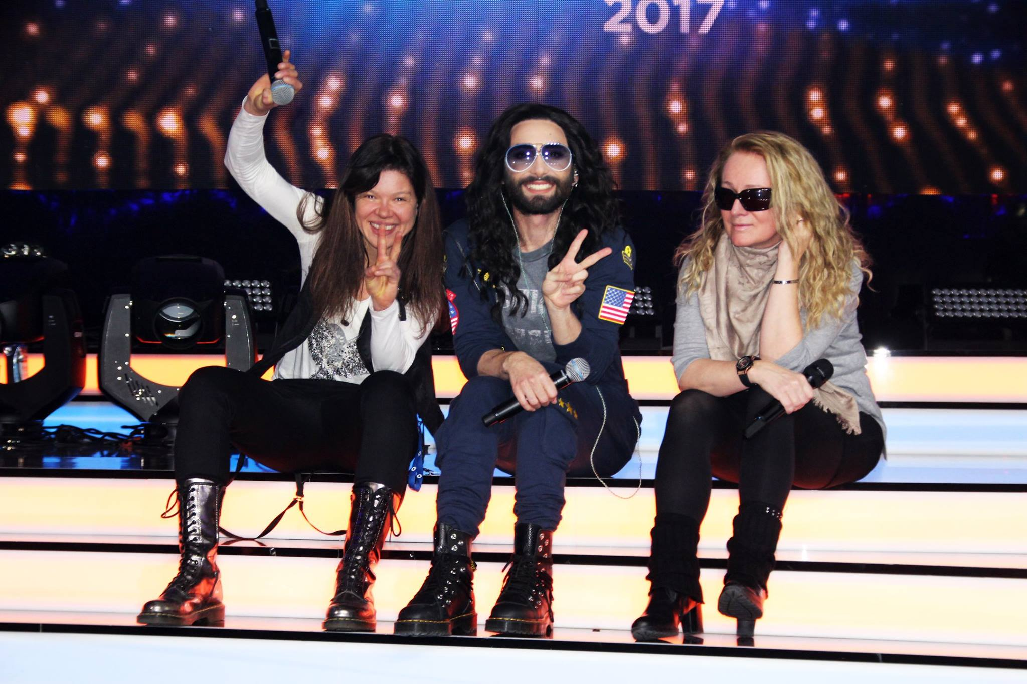 Germany 2017: photo impressions from Ruslana, Conchita & Nicole at Unser Song